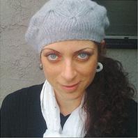 Above: Christine Kessler, who died last week in Los Angeles