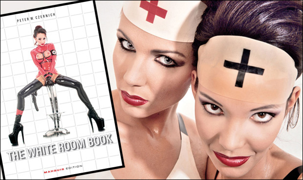 NURSE! The forthcoming White Room Book may leave you needing medical attention (Photo: PWC)