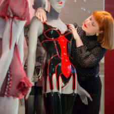 HOUSE OF HARLOT CORSET AT THE V&A