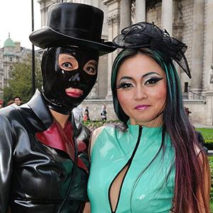 London Fetish Weekend Taster: Bus Tour at LFW 2015 by Bobette