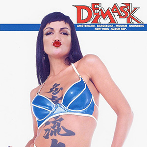 DeMask classic ads, flyers and posters