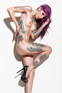 Tattoo Super Models: Christian Saint