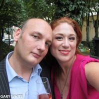 Gary and girlfriend Miss Yuthika
