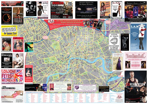 FETISH MAP LONDON 2016