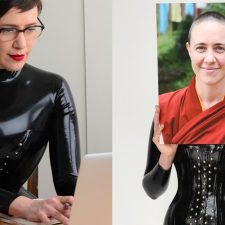 RUBBER NUN SEEKS PHD FUNDING