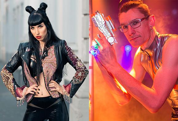 Fräulein Katzentanz and Ian Dutton will host the fashion shows at the Avantgardista debut