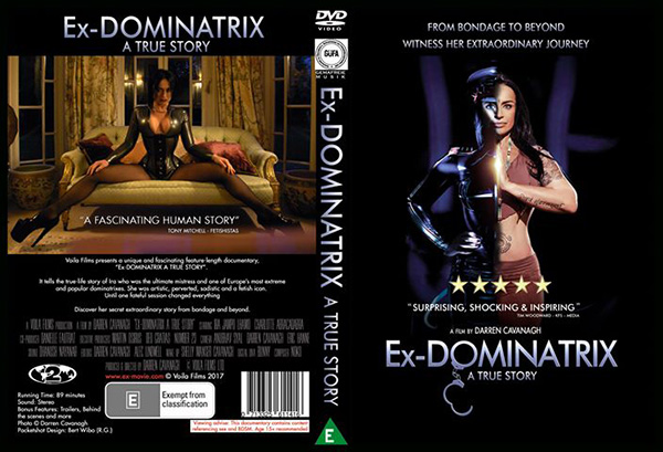Five free copies of Ex-Dominatrix DVD to win in our Easter Giveaways