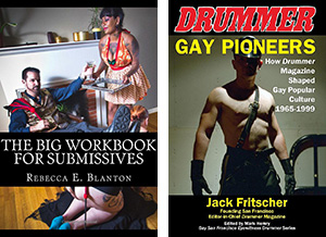 NLA-I Writing Awards 2018 finalists Big Workbook for Submissives, Gay Pioneers