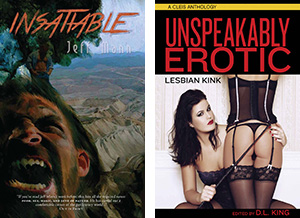 NLA-I Writing Awards 2018 finalists Insatiable, Unspeakably Erotic