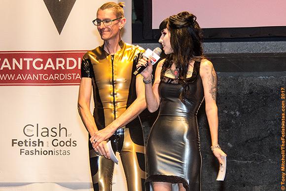 Ian Dutton and Fräulein Katentanz, who will present the Avantgardista 2018 fashion shows