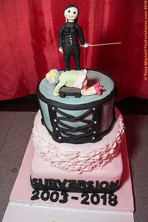 Subversion's 15th Birthday cake