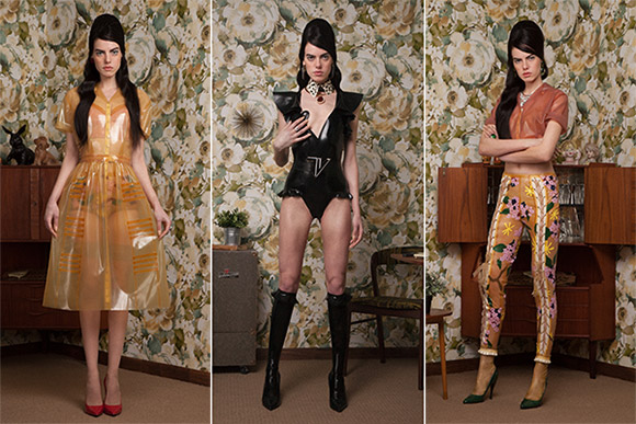 TheFetishistas Tableaux Vivants latex fashion