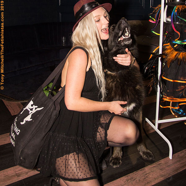Well-behaved canines are welcome at the Boutique Bazaar Dirty Valentine event