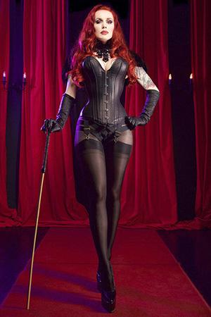 Mistress Morrigan Hel, interviewed here for our Performers in Lockdown series