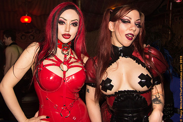 GFB Weekend 2020 cancelled also means no FetishGuerilla at KitKat, were Dani Divine and Iris Trika partied in 2019 (photo: Tony Mitchell)