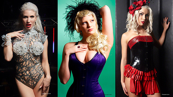 Gothic Image relaunch models Ryo Love, Harlot Rouge and Sophia Shmigol