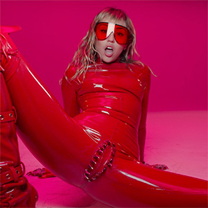 Miley Cyrus's vagina dentata latex catsuit earned designer Venus Prototype – but not Miley herself – an IG account takedown