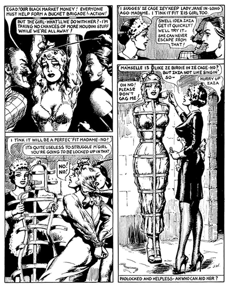 Bondage cartoon gwendoline