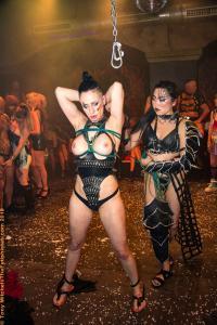 FetishGuerilla Revolution 2018: Amrita & Giada Davinci show