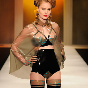 Atsuko Kudo: Restricted Love on Lingerie London Runway by Andrew Lamb