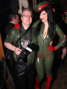 Tony with Rubberdoll