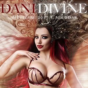 Dani Divine Gallery 4: Recent Calendars and Magazine Covers