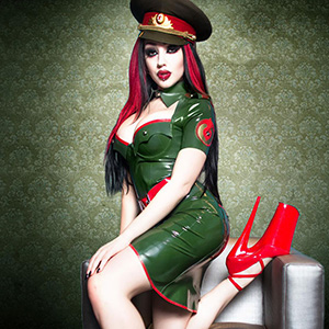 Dani Divine Gallery 2: Latex by Other Labels & Designers