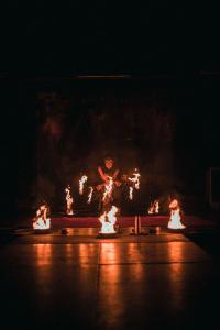 Honeyland Shows: Aurora Fire Performance