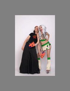 Monique Charriere with Alex Heim(Savage Wear)