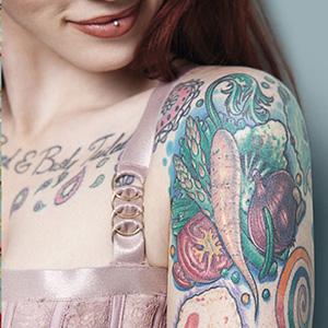 Tattooed Beauties by Christian Saint: Six Selected Portraits