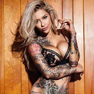 Tattooed Beauties by Christian Saint: Six Selected Spreads