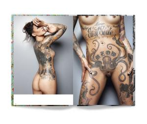 Tattooed Beauties: Six Spreads