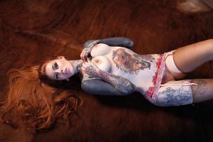 Tattooed Beauties: Six Portraits